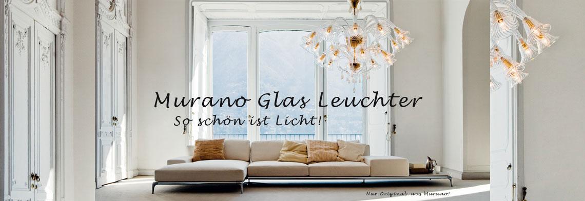 Murano Glas Leuchten