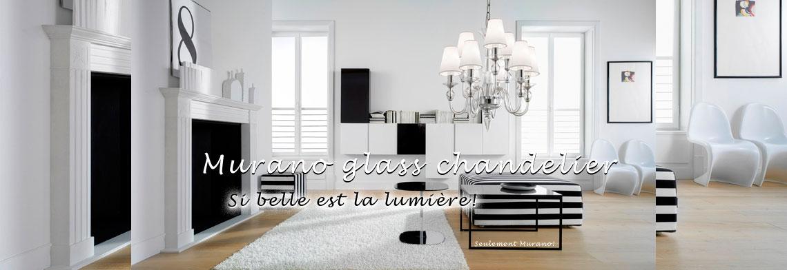 Lampes en verre de Murano