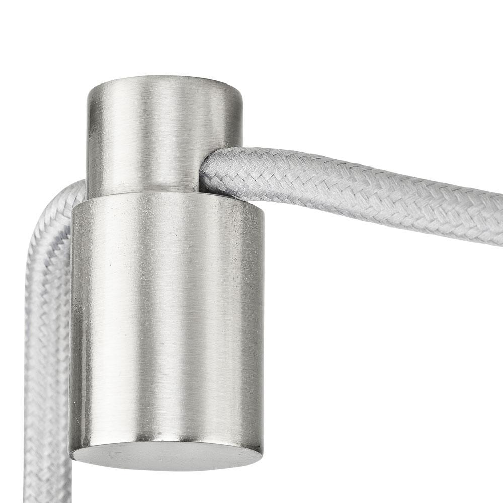 Kabelhalter Metall Vernickelt Kabelhalterung Kabel Aufhangung