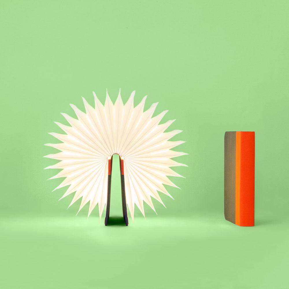 Lumio Table Lamp Battery Lamp Booklight Fabric Cover Designer