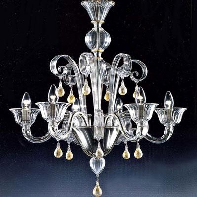Radon lightshop ara a de cristal de murano l mparas de - Lamparas de cristal de murano ...