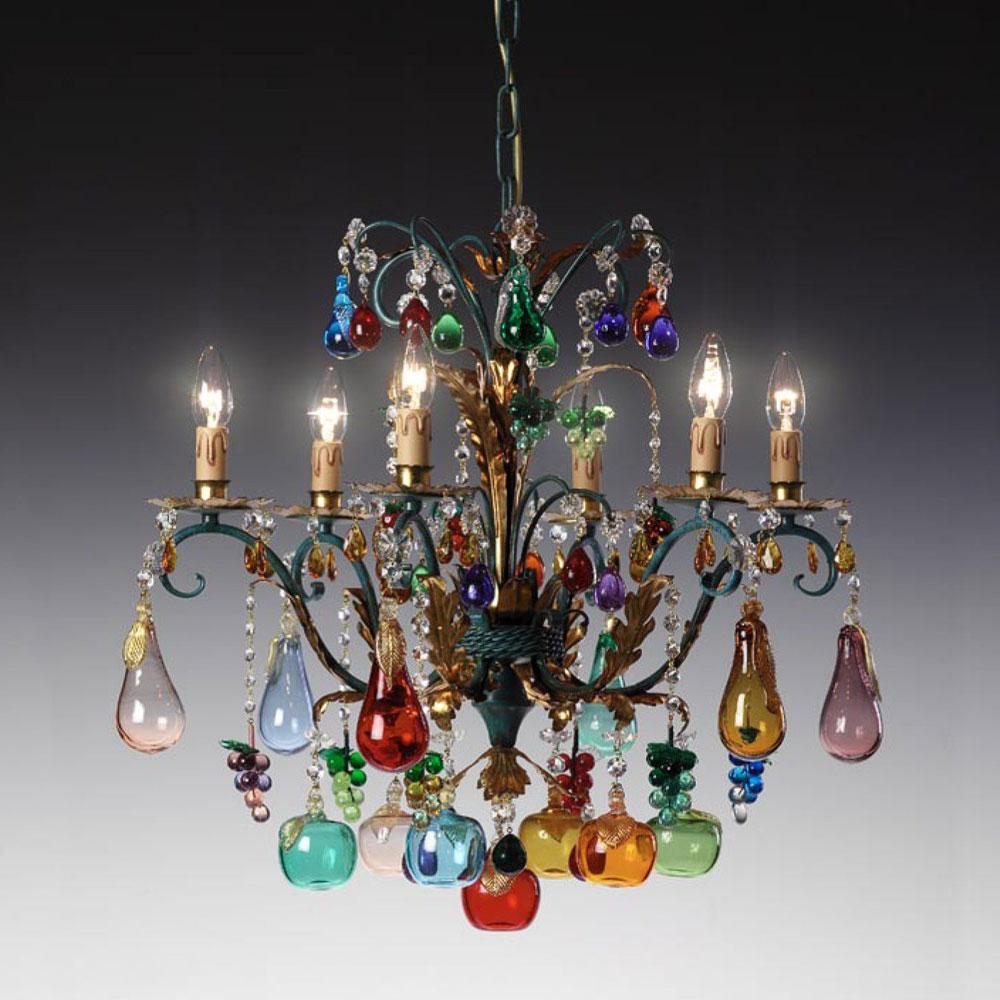 Radon Lightshop Lustres En Verre De Murano Lampe Suspension