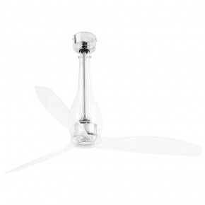 Eterfan Transparent ceiling fan with DC motor