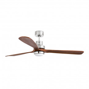 Lantau-G LED Matt nickel ceiling fan