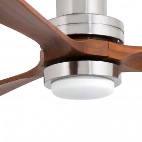 Lantau-G LED Nickel matt Deckenventilator