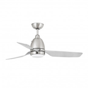 Fogo LED Satin nickel ceiling fan
