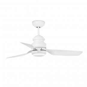 Phuket LED White ceiling fan