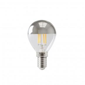Mini bombilla LED con filamento abovedado E14 4W 310lm 2700K regulable