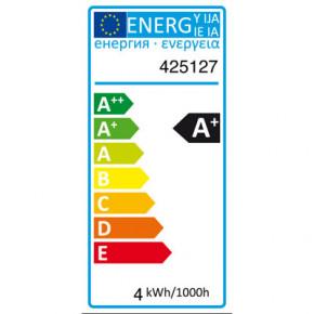 LED Glühfaden Mini-Birne Kuppenverspiegelt E27 4W 310lm 2700K dimmbar