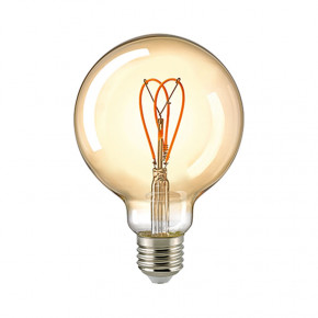 LED Filament Globe Loop Gold E27 5,5W 250lm 2000K dimmbar