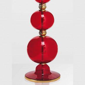 """Bolle rosso"" Klassische Murano Glas Stehleuchte"