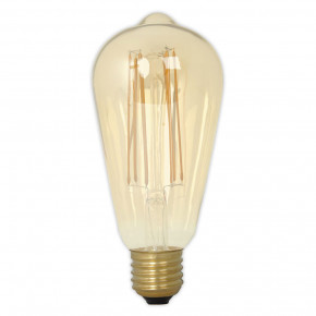 LED Filament Rustic ST64 4W E27 2100K Gold dimmerabile