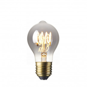 LED Vollglas Flex Filament GLS-Lampe Titan 4.3W 100lm 2100K dimmbar