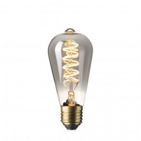 LED Vollglas Flex Filament Rustik Lampe Titan 4W 100lm 2100K dimmbar
