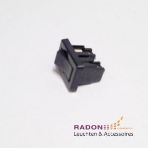 Interrupteur à bascule noir