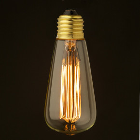 Vintage Edison Glühlampe 240V 25W E27
