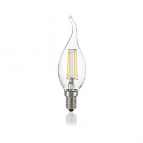 LED Glühfaden Windstoss-Kerze E14 4W 430lm 3000K klar