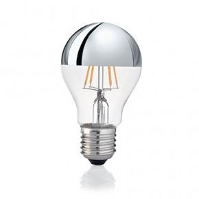 LED-Glühfaden Birne E27 8W 500lm 2700K Kopfverspiegelt