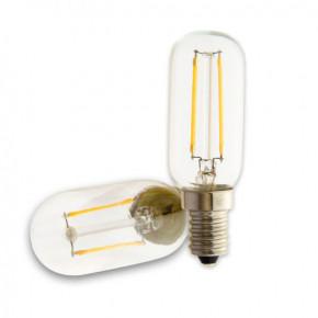 LED Glühfaden Birne E14 T26 2W klar 170lm 3000K