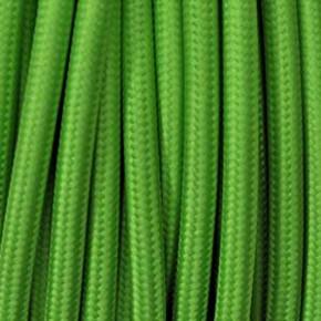 Textilkabel 3x0,75mm² kiwi