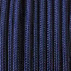 Textilkabel 3x0,75mm² ultramarinblau