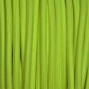 Textilkabel 3x0,75mm² fluoreszierend gelb
