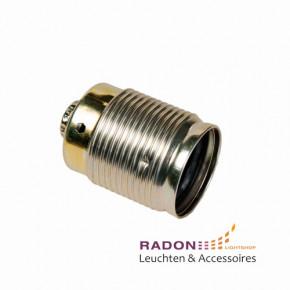 E27 de metal tubo roscado - oro