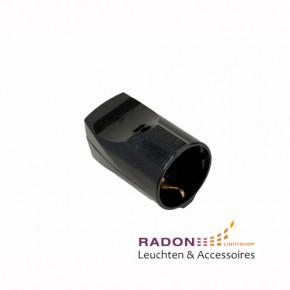 Schukokupplung Standard - schwarz