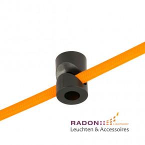 Kabelhalter PVC schwarz