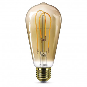 Philips LED Filament ST64 5W E27 250lm 2000K Gold
