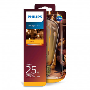 Philips LED Filament ST64 5W E27 250lm 2000K Gold