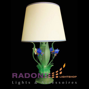 Murano Glas Leuchte Iris