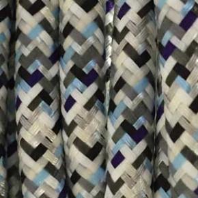 Textilkabel 3x0,75mm² Pixel-Eis