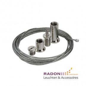 Universal-Stahlseilaufhängung