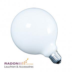 LED-Globelampe 9W E27 opal