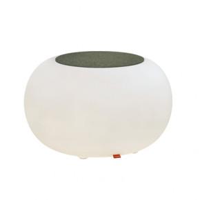 Bubble LED ACCU für Garten und Terrasse mit anthrazit Sitzkissen