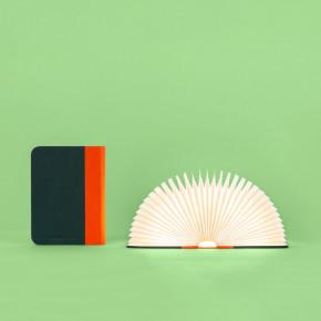 Lumio Lamp classic Orange-Grün