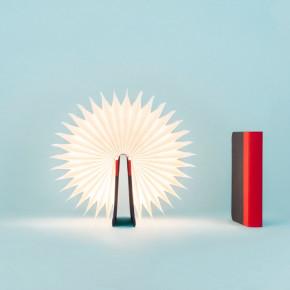 Lumio clásica lámpara Rojo Azul marino