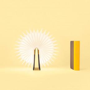 Lumio clásica lámpara Gris Amarillo