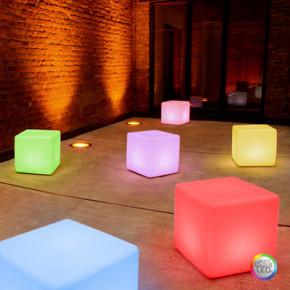 Cube LED Pro Accu für Innenräume