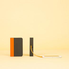 Mini Lumio+ Orange-Schwarz