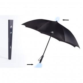 Pluvis Regenschirm schwarz