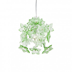 Edo - Lamp with green flowers