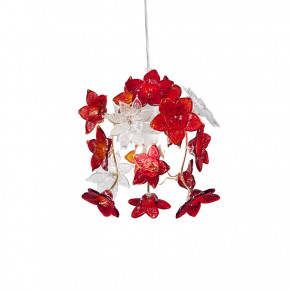 Edo - lamp with red flowers