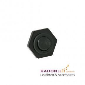 Einbau-Wippschalter schwarz